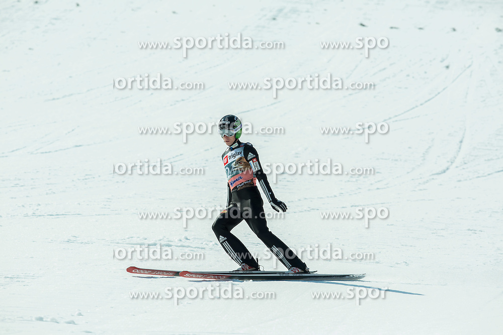 Jurij Tepes of Slovenia during the Ski Flying Individual Qualification at Day 1 of FIS World Cup Ski Jumping Final, on March 19, 2015 in Planica, Slovenia. Photo by Vid Ponikvar / Sportida