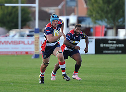 Olly Robinson of Bristol United - Mandatory by-line: Paul Knight/JMP - 02/10/2016 - RUGBY - Hyde Park - Taunton, England - Bristol United v Gloucester United - Aviva A League