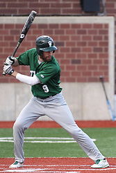 21 April 2015:  Adam Glogovsky during an NCAA Inter-Division Baseball game between the Illinois Wesleyan Titans and the Illinois State Redbirds in Duffy Bass Field, Normal IL