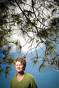 "Janine Benyus, Biologist, and author of ""Biomimicry: Innovation Inspired by Nature"".  Photographed in San Rafael, CA for Fortune Magazine."