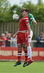 RHOSYMEDRE, WALES - Sunday, May 5, 2019: Connah's Quay Nomads's Michael Wilde during the FAW JD Welsh Cup Final between Connah's Quay Nomads FC and The New Saints FC at The Rock. (Pic by David Rawcliffe/Propaganda)