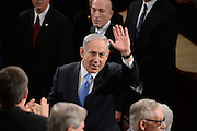 3/3/2015 {time} -- Washington, DC, U.S.A  -- Benjamin Netanyahu, Prime Minister of Israel, addresses a joint meeting of Congress. --    Photo by H. Darr Beiser, USA TODAY Staff (Via OlyDrop)