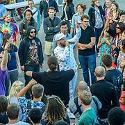 RA Scion performing at Solstice Music Festival, Fremont Fair 2015.