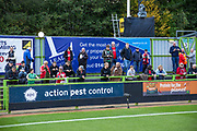Leaders advertising board during the EFL Sky Bet League 2 match between Forest Green Rovers and Swindon Town at the New Lawn, Forest Green, United Kingdom on 22 September 2017. Photo by Shane Healey.