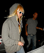 23.JULY.2007. LONDON<br /> <br /> A DRUNK KIMBERLY STEWART WHO'S WEARING SUNGLASSES AT NIGHT AND CALUM BEST LEAVING THROUGH THE SIDE DOOR AT THE SOHO HOTEL AT 10.30PM AND THEN GOING BACK TO THE DORCHESTER HOTEL TOGETHER.<br /> <br /> BYLINE: EDBIMAGEARCHIVE.CO.UK<br /> <br /> *THIS IMAGE IS STRICTLY FOR UK NEWSPAPERS AND MAGAZINES ONLY*<br /> *FOR WORLD WIDE SALES AND WEB USE PLEASE CONTACT EDBIMAGEARCHIVE - 0208 954 5968*