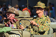 Old Soldier during Brisbane ANZAC day 2005 parade