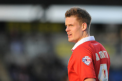 Bristol City's Matt Smith - Photo mandatory by-line: Dougie Allward/JMP - Mobile: 07966 386802 - 21/02/2015 - SPORT - Football - Colchester - Colchester Community Stadium - Colchester United v Bristol City - Sky Bet League One