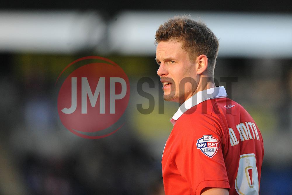 Bristol City's Matt Smith - Photo mandatory by-line: Dougie Allward/JMP - Mobile: 07966 386802 - 21/02/2015 - SPORT - Football - Colchester - Colchester Community Stadium - Colchester United v Bristol City - Sky Bet League One
