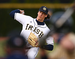 Jeff Samardzija pitches for the Notre Dame baseball team during a March 31, 2006 game...Photo by Matt Cashore..Use of this image prohibited without authorization and/or compensation..To contact Matt Cashore:.574.220.7288.574.233.6124.cashore1@michiana.org.www.mattcashore.com