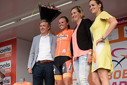 Chantal Blaak (Boels Dolmans) retains the race lead after the 116 km Stage 5 of the Boels Ladies Tour 2016 on 3rd September 2016 in Tiel, Netherlands. (Photo by Sean Robinson/Velofocus).