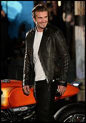 David Beckham attends the Belstaff House Opening. London, United Kingdom. Sunday, 15th September 2013. Picture by Ben Stevens / i-Images