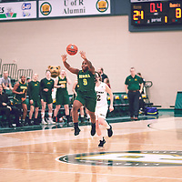 3rd year guard, Kyanna Giles (9) of the Regina Cougars during the Women's Basketball Home Game on Sat Dec 01 at Centre for Kinesiology,Health and Sport. Credit: Arthur Ward/Arthur Images