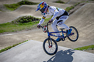 #88 (SAKAKIBARA Saya) AUS during practice of Round 3 at the 2018 UCI BMX Superscross World Cup in Papendal, The Netherlands