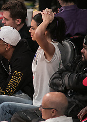 October 20, 2018 - Los Angeles, California, U.S - Kendall Jenner attends the NBA game between the Los Angeles Lakers and the Houston Rockets on Saturday October 20, 2018 at the Staples Center in Los Angeles, California. (Credit Image: © Prensa Internacional via ZUMA Wire)