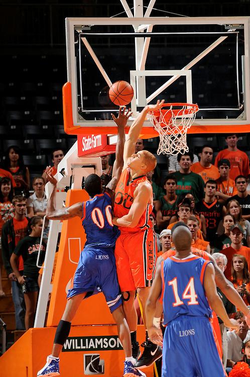 2009 University of Miami Men's Basketball vs Florida Memorial