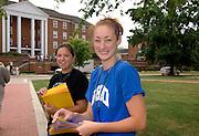 17055Pre -College shots of Parents..Anna Shearer(blue), Krista Phelps(black shirt)