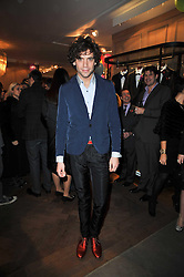 Singer MIKA at the launch party of 'Songs For Sorrow' hosted by Alber Elbaz and Mika held at Lanvin, 32 Savile Row, London on 11th November 2009.