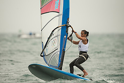 2012 Olympic Games London / Weymouth<br /> RSX women racing day 1 <br /> RS:X WomenHUNDetre Diana