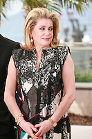 Actress Catherine Deneuve at the photo call for the film L'Homme qu'on aimait trop (In the Name of My Daughter) at the 67th Cannes Film Festival, Wednesday 21st  May 2014, Cannes, France.