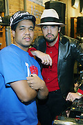 1 December 2010-New York, NY-l to r: Celebrity Photographer Johnny Nunez and DJ Cassidy at The New Era Launch of his Limited Edition 59Fitfty Cap and Launch of his Eye Can Foundation held at The New Era Flagship Store on December 1, 2010 in New York City.  Photo Credit: Terrence Jennings