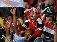 Fussball International   WM  2010  Qualifikation  Afrika  14.11.2009 Aegypten - Algerien EGY Fans
