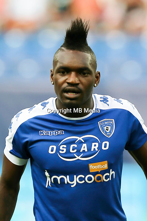 Thievy Bifouma of Bastia during the French Ligue 1 match between SM Caen an Bastia at Stade Michel D'Ornano on August 27, 2016 in Caen, France. (Photo by Vincent Michel/Icon Sport)