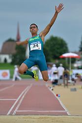 04/08/2017; Ruan de Moraes, Thomaz, F47, BRA at 2017 World Para Athletics Junior Championships, Nottwil, Switzerland