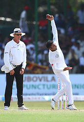 July 22, 2018 - Sri Lanka - South Africa's Dale Steyn bowls during the third day of the second Test match between Sri Lanka and South Africa at the Sinhalese Sports Club (SSC) international cricket stadium in Colombo,Sri Lanka  on July 22, 2018. (Credit Image: © Pradeep Dambarage/Pacific Press via ZUMA Wire)