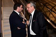 Giancarlo Giorgetti, Paolo BArelli <br /> Roma 12-4-2019 Nuvola, Roma Convention Center <br /> Cena di Gala Formula E <br /> Photo Andrea Staccioli / Insidefoto