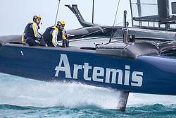 Artemis Racing. 27th of April, 2017, Bermuda