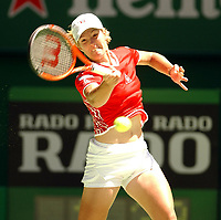 Tennis, 19. januar 2003 , Australian Open, Justin Henin-Hardenne, Belgia<br /> Foto: Roger Parker, Digitalsport