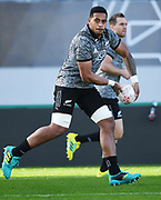 Shannon Frizell, <br /> All Blacks training session at Eden Park ahead of the upcoming test series against France. Auckland, New Zealand. Thursday 7 June 2018. © Copyright photo: Andrew Cornaga / www.Photosport.nz