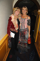 Left to right, INGRID SEWARD and INGRID TARRANT at a party to launch Crosley Diamonds at Annabels, Berkeley Square, London on 15th November 2007.<br /><br />NON EXCLUSIVE - WORLD RIGHTS