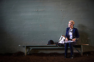 ARCADIA, CA - NOVEMBER 05:  Donna Barton Brothers prepares to go on fire for NBC during day two of the 2016 Breeders' Cup World Championships at Santa Anita Park on November 5, 2016 in Arcadia, California. (Photo by Alex Evers/Eclipse Sportswire/Breeders Cup)