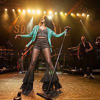 Beverley Knight in concert at The O2 ABC, Glasgow, Scotland, Britain 158h October 2017