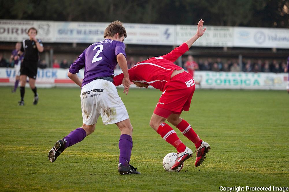 369587-Voetbal FC Heikant tegen VC Herentals-2 Dennis Geerts, 9 Robin Adriaenssen
