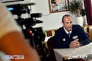 DESCRIZIONE: Folgaria ritiro nazionale italiana maschile - Conferenza Stampa <br /> GIOCATORE: Ettore Messina<br /> CATEGORIA: Nazionale Maschile Senior<br /> GARA: Folgaria Ritiro Nazionale Italiana Maschile - Conferenza Stampa <br /> DATA: 07/06/2016<br /> AUTORE: Agenzia Ciamillo-Castoria