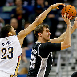 02-03-2014 San Antonio Spurs at New Orleans Pelicans