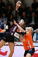 Helene Gigstad Fauske fra Herning-Ikast under semifinalen i HTH Dameligaen mellem Herning-Ikast Håndbold i IBF Arena, Ikast, Danmark, den 01.05.2019. Photo Credit: Allan Jensen/EVENTMEDIA.