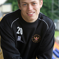St Johnstone Season 2009-10 <br /> Murray Davidson<br /> <br /> Picture by Graeme Hart.<br /> Copyright Perthshire Picture Agency<br /> Tel: 01738 623350  Mobile: 07990 594431