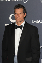 BEAR GRYLLS arrives at the Laureus Sport Awards held at the Queen Elizabeth II Centre, London, Monday February 6, 2012. Photo By i-Images