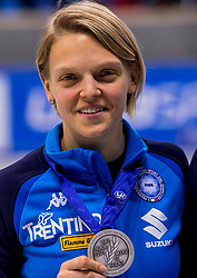 13-01-2018 DUI: ISU European Short Track Championships 2018 day 2, Dresden<br /> Arianna Fontana ITA # 9