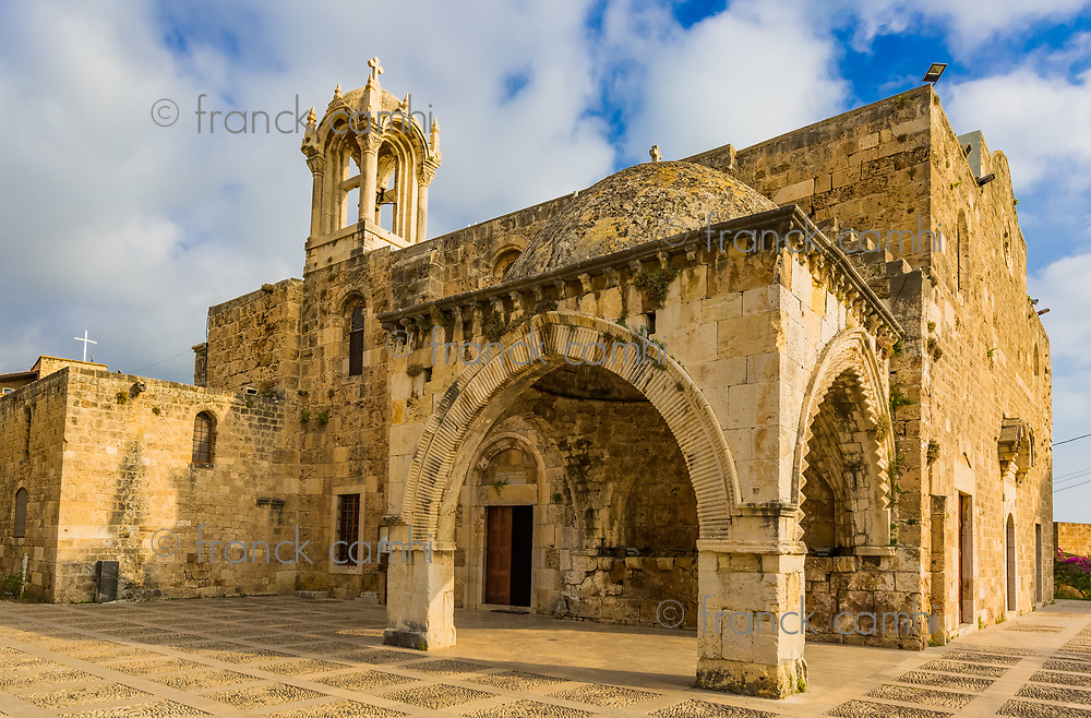 Saint John Marc Cathedral  Byblos Jbeil in Lebanon Middle east