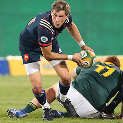Baptiste Serin of France during the 1st test match between South Africa and France Loftus Versfeld stadium, Pretoria South Africa. 10th June 2017(Photo by Steve Haag Sports)