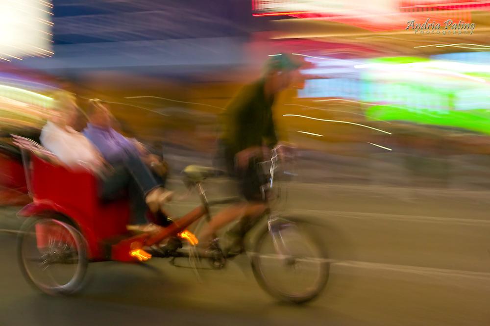Pedicab in Times Square