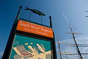South Street Seaport, downtown, Manhattan,New York,U.S.A.