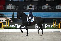 Logutenkova Inna, (UKR), Universalis<br /> Grand Prix Dressage<br /> Stuttgart - German Masters 2015<br /> © Hippo Foto - Stefan Lafrentz