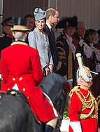 21.10.2014;London, UK: CATHERINE, DUCHESSOF CAMBRIDGE<br /> attended her first public engagement since the announcement of her second pregnancy.<br /> Kate was accompanied by Prince William to the ceremonial welcome at Horse Guards Parade for The President of the Republic of Singapore Tony Tan and Mrs. Mary Tan.<br /> The Queen and Duke of Edinburgh officially welcomed the The President of the Republic of Singapore Tony Tan and Mrs. Mary Tan.<br /> The President of the Republic of Singapore is on a 4-day State Visit to the UK.<br /> Mandatory Photo Credit: &copy;Dias/NEWSPIX INTERNATIONAL<br /> <br /> **ALL FEES PAYABLE TO: &quot;NEWSPIX INTERNATIONAL&quot;**<br /> <br /> PHOTO CREDIT MANDATORY!!: NEWSPIX INTERNATIONAL(Failure to credit will incur a surcharge of 100% of reproduction fees)<br /> <br /> IMMEDIATE CONFIRMATION OF USAGE REQUIRED:<br /> Newspix International, 31 Chinnery Hill, Bishop's Stortford, ENGLAND CM23 3PS<br /> Tel:+441279 324672  ; Fax: +441279656877<br /> Mobile:  0777568 1153<br /> e-mail: info@newspixinternational.co.uk