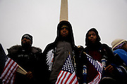 Obama Inauguration - Sunday concert on the National Mall, Washington monument and Lincoln Memorial.