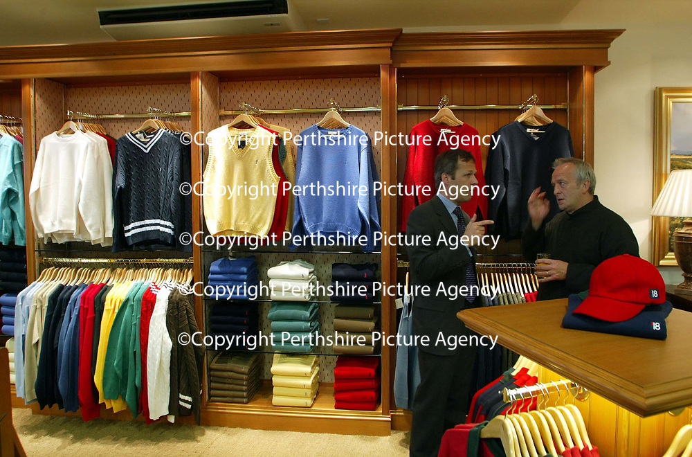 Golf St Andrews shop, a joint venture between the House of Bruar and the R&amp;A<br /><br />Picture by Graeme Hart.<br />Copyright Perthshire Picture Agency<br />Tel: 01738 623350  Mobile: 07990 594431